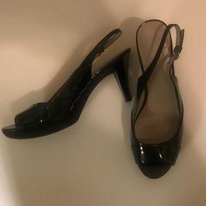 Nine & Co. Buckle Slingback Heel